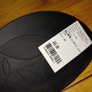 White Mountain Shoes - Cliffs white mountain venda black sandals size 5